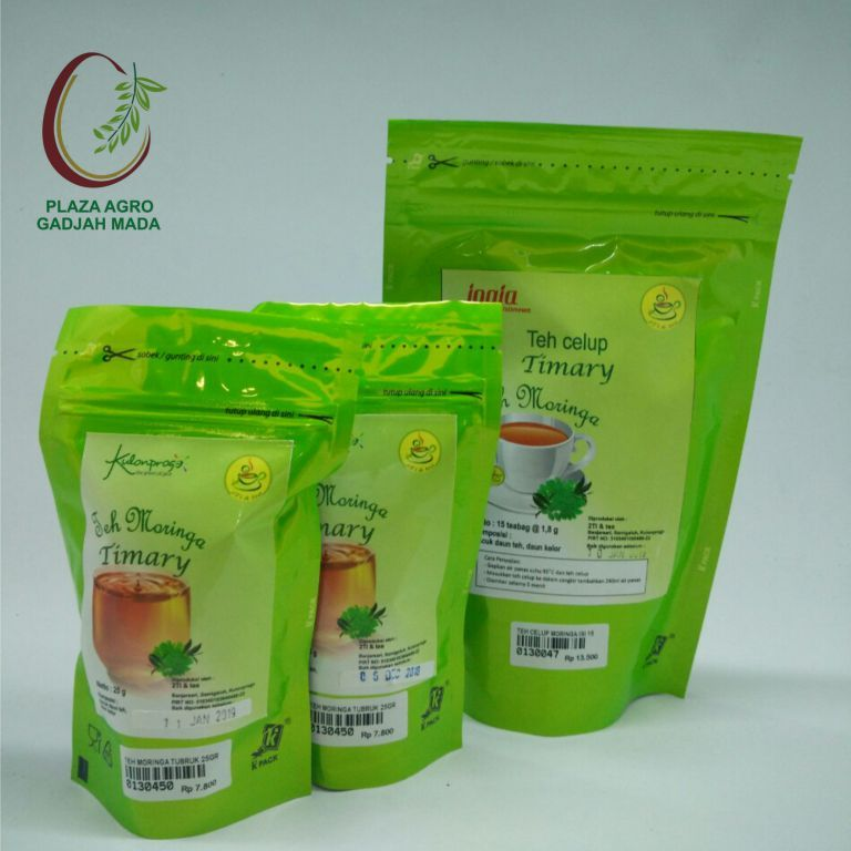 Timary Teh Celup Moringa isi 15