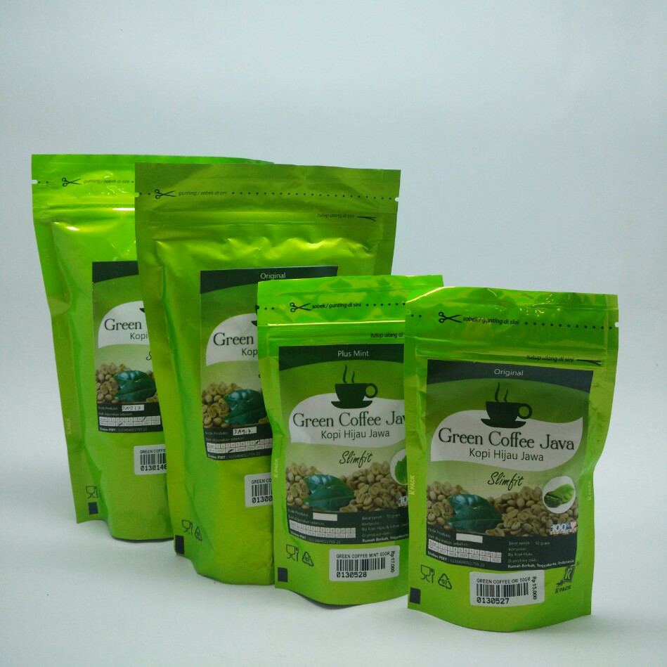 Green Coffe Java Plus Mint 50gr